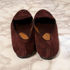 Dolce Vita Shoes - Dolce Vita burgundy suede Gelle loafer flats
